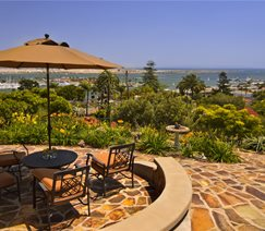 Stone, View, Ocean, Umbrella Landscaping Network Calimesa, CA