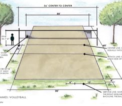 volleyball � backyard games landscaping network