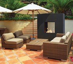 Napa fireplace