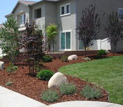 Garden Beds, Drip Irrigation Walkway and Path A-Plus Sprinkler and Landscape Crestline, CA