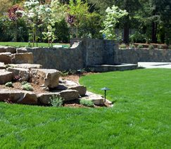 Underground Irrigation Walkway and Path Aesthetic Gardens Mountain View, CA