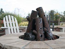 Steel Fire Logs Rocky Mountain Ironworks Denver, CO