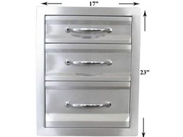 Sun 17-inch Premium Triple Access Drawer