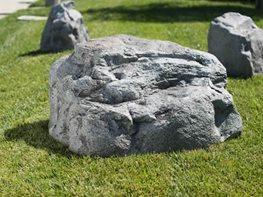 Lightweight landscape boulders