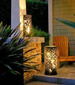 Metal Garden Lanterns