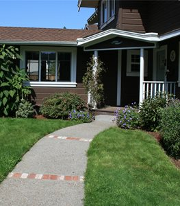 Front Entry Walkway Walkway and Path Genevieve Schmidt Landscape Design and Fine Maintenance Arcata, CA