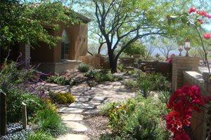 Garden Walkway Asian Landscaping Casa Serena Landscape Designs LLC - Closed ,