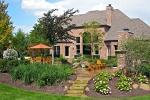 Backyard Retreat Ideas backyard Backyard Retreat Fireplace Backyard Landscaping Smalls Landscaping Inc Valparaiso