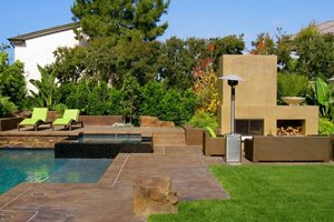 Ca Backyard Backyard Landscaping David A. Pedersen Landscape Architect Newport Beach, CA