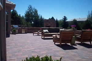 Backyard Landscaping Green Scapes Landscaping Colorado Springs, CO