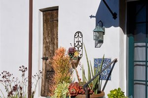 Pot Grouping Container Gardens Grace Design Associates Santa Barbara, CA