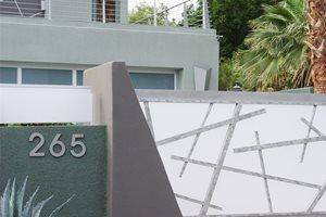 Modern Driveway Gate Driveway Maureen Gilmer Morongo Valley, CA