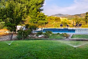 Sprinklers Flagstone Landscaping Network Calimesa, CA