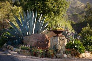 Address Boulder Front Yard Landscaping Grace Design Associates Santa Barbara, CA
