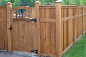 Privacy Fence Lighting Paradise Restored Landscaping Portland, OR