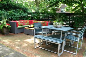 City Garden Patio Midwest Landscaping Livable Landscapes Wyndmoor, PA