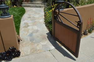Sunburst, Gate, Small Outdoor Kitchen Landscaping Network Calimesa, CA