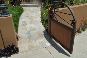 Sunburst, Gate, Small Outdoor Kitchen Landscaping Network Calimesa, CA