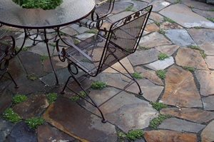 Brown Flagstone, Flagstone Patio Patio Lifestyle Landscapes Seattle, WA