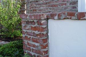 Brick Wall, Weeping Mortar Joints Maureen Gilmer Morongo Valley, CA