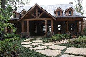 Front Entrance Landscaping Landvisions TX Tyler, TX