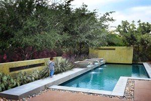 Geometric Pool Design Bianchi Design Scottsdale, AZ