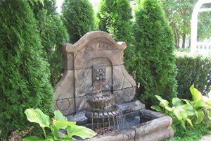 Large Wall Fountain Sisson Landscapes Great Falls, VA