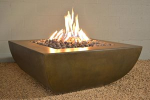 Legacy Square Fire Pit Architectural Pottery Midway City, CA