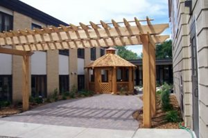 Narrow Pergola, Walkway Pergola Signature Landscapes Inc. Fargo, ND
