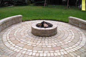 stone patio designs 26 awesome stone patio designs for your home paverstone design group powell oh - Stone Patio Designs
