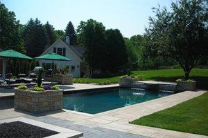 Pool Deck Apex Landscape Grand Rapids, MI