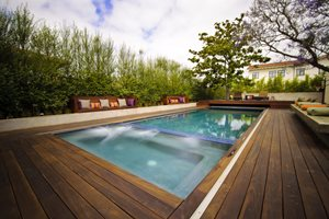 Pool Deck Z Freedman Landscape Design Venice, CA