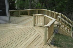 Pressure Treated Deck Boards, Deck Repair Archadeck of Fort Wayne Ft. Wayne, IN