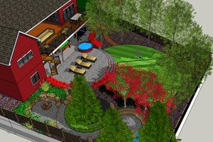 Rendering Breckon Land Design Inc. Garden City, ID