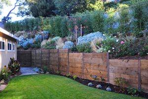 Rustic Fence Cagwin & Dorward Novato, CA