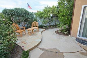 Small Patio, Small Backyard, Concrete Patio DC West Construction Inc. Carlsbad, CA