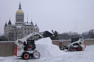 Snow Plowing E.A. Quinn Landscape Contracting, Inc. Glastonbury, CT