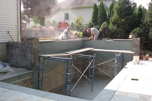 Building Swimming Pool Swimming Pool Cipriano Landscape Design Mahwah, NJ