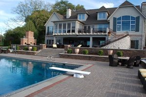 Large Family Swimming Pool Swimming Pool Outdoor Innovations Aledo, IL
