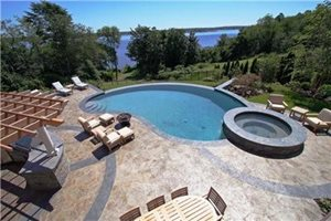 Swimming Pool New England Hardscapes Acton, MA