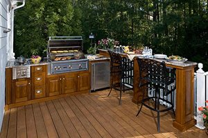 Outdoor Kitchen Materials - Landscaping Network