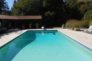 Swimming Pool Shades of Green Landscape Architecture Sausalito, CA