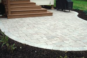 Small Paver Patio Swimming Pool Lehigh Lawn & Landscaping Poughkeepsie, NY