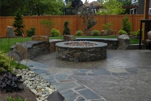 Swimming Pool Sublime Garden Design Snohomish, WA