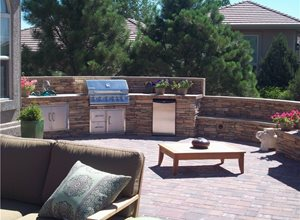 Outdoor Kitchen Green Scapes Landscaping Colorado Springs, CO