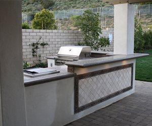 Outdoor Concrete Countertops Outdoor Kitchen The Green Scene Chatsworth, CA