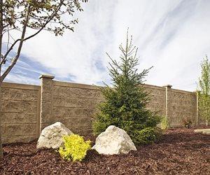 Concrete Fencing, Panels, Columns RhinoRock Concrete Fencing Orem, UT