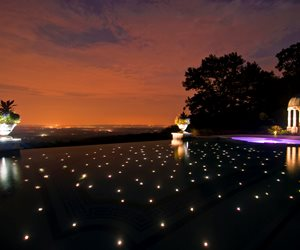 Fiber Optic Pool Lighting Cipriano Landscape Design Mahwah, NJ