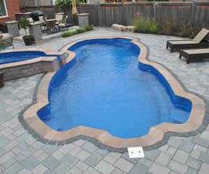Fiberglass Swimming Pool OGS Landscape Services Whitby, ON