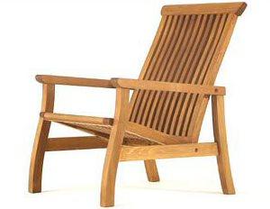 Lounge Chair, Cedar, Teak, Brookbend Brookbend Hopkinton, MA